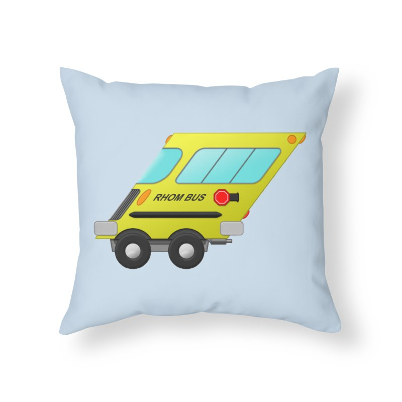 Rhom-bus Home Throw Pillow by Eriklectric's Artist Shop