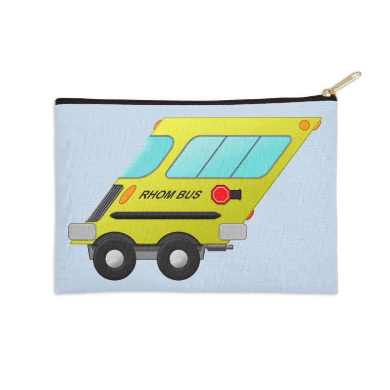 Rhom-bus Accessories Zip Pouch by Eriklectric's Artist Shop