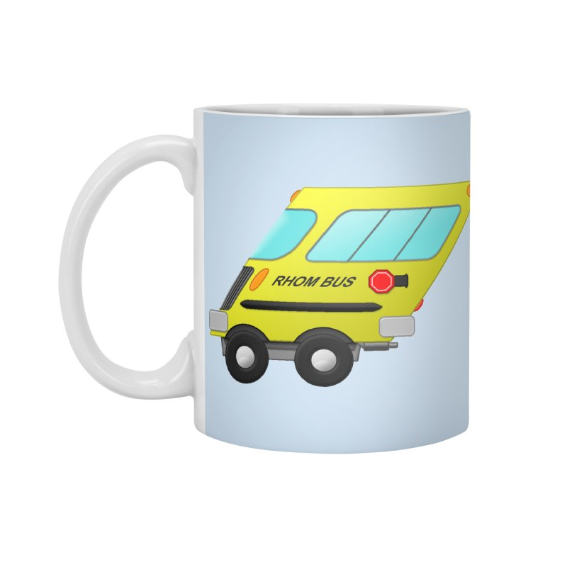 Rhom-bus Accessories Mug by Eriklectric's Artist Shop