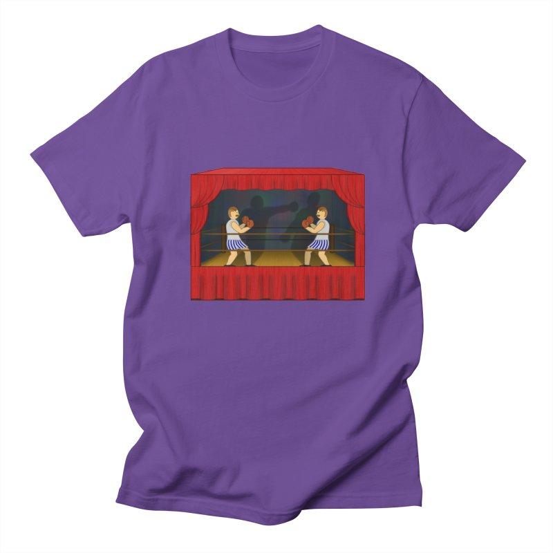 Shadow Box-ing Women's Unisex T-Shirt by Eriklectric's Artist Shop