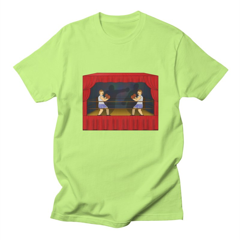 Shadow Box-ing Women's Regular Unisex T-Shirt by Eriklectric's Artist Shop