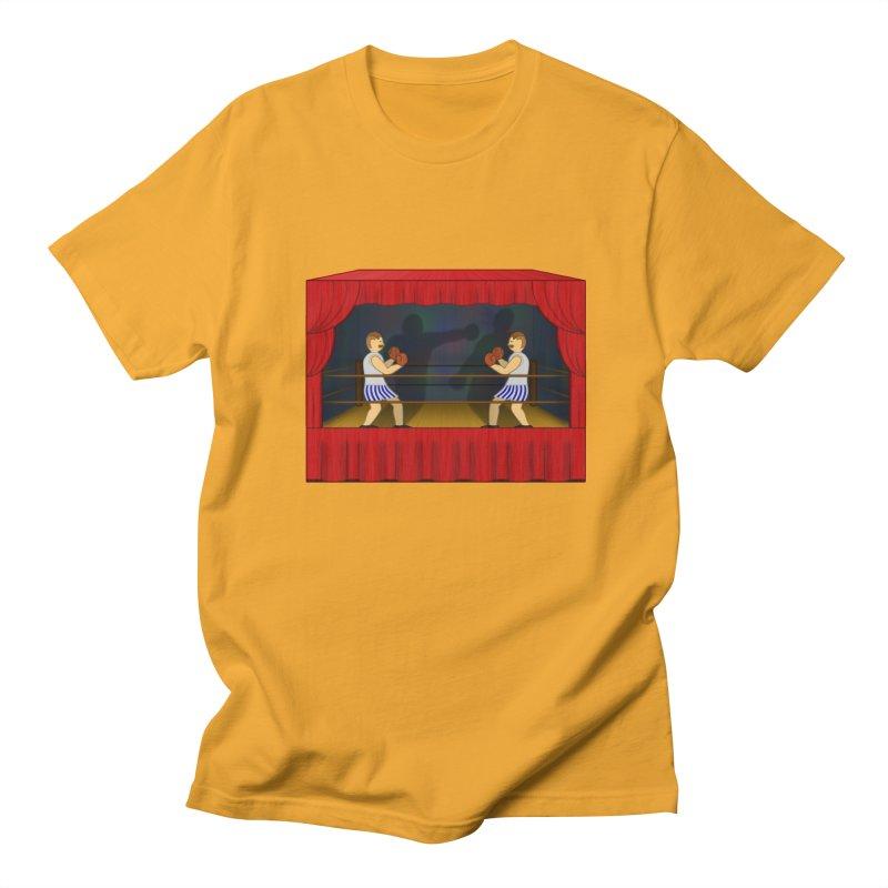 Shadow Box-ing Men's T-Shirt by Eriklectric's Artist Shop