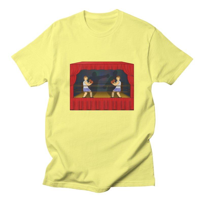 Shadow Box-ing Women's Regular Unisex T-Shirt by Eriklectric's Artist Shop