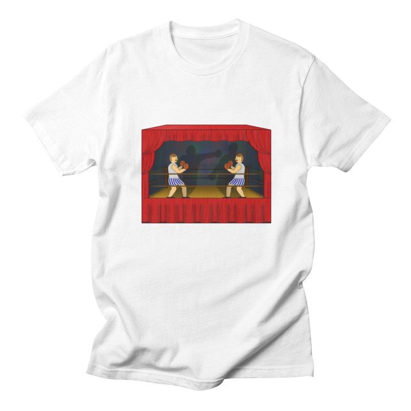 Shadow Box-ing Men's Regular T-Shirt by Eriklectric's Artist Shop