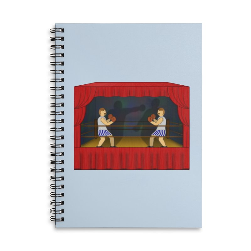 Shadow Box-ing Accessories Notebook by Eriklectric's Artist Shop