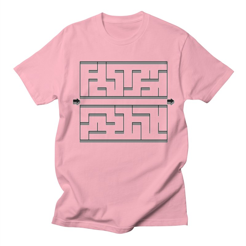 Econo-maze Men's Regular T-Shirt by Eriklectric's Artist Shop