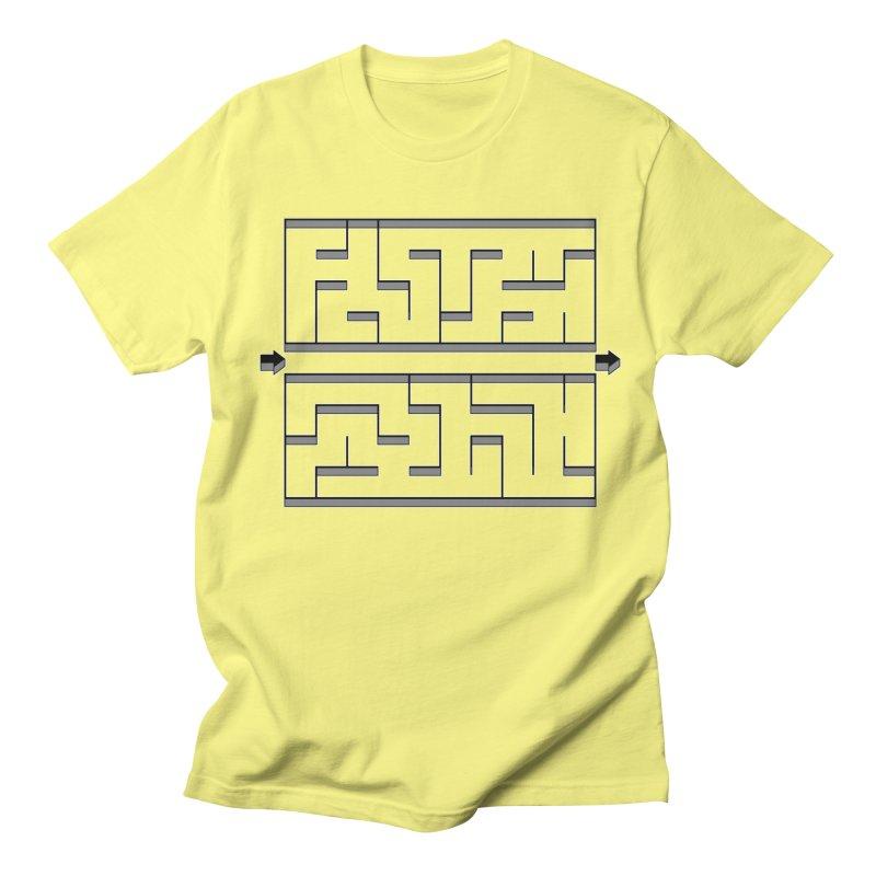 Econo-maze Women's Regular Unisex T-Shirt by Eriklectric's Artist Shop