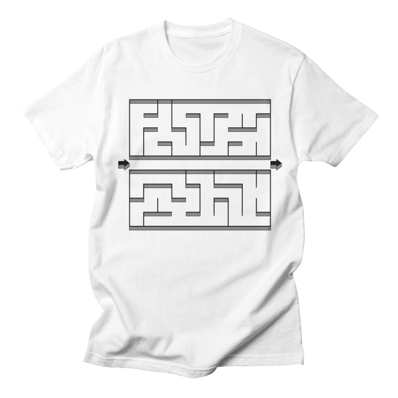 Econo-maze Women's Regular Unisex T-Shirt by Eriklectric's Artist Shop