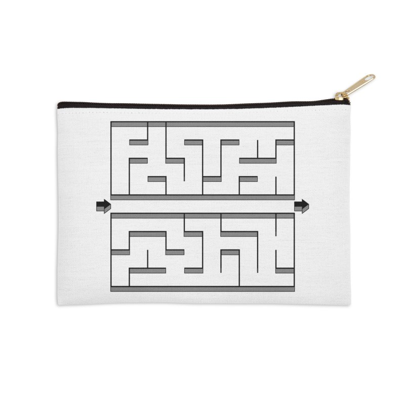 Econo-maze Accessories Zip Pouch by Eriklectric's Artist Shop