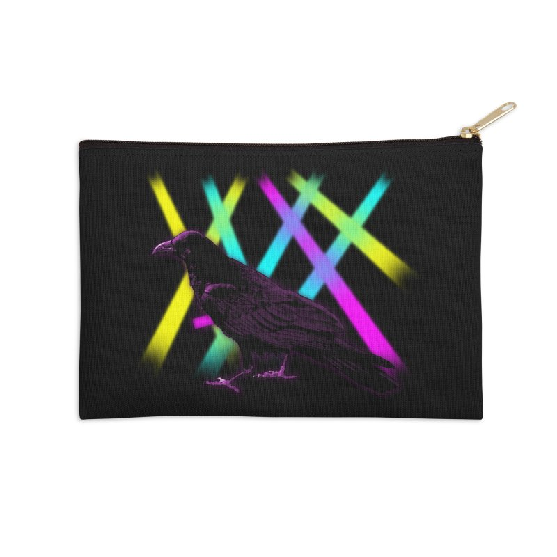 Rave-n Accessories Zip Pouch by Eriklectric's Artist Shop