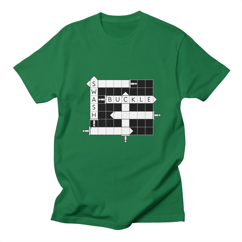 CrossSword Puzzle Men's T-Shirt by Eriklectric's Artist Shop