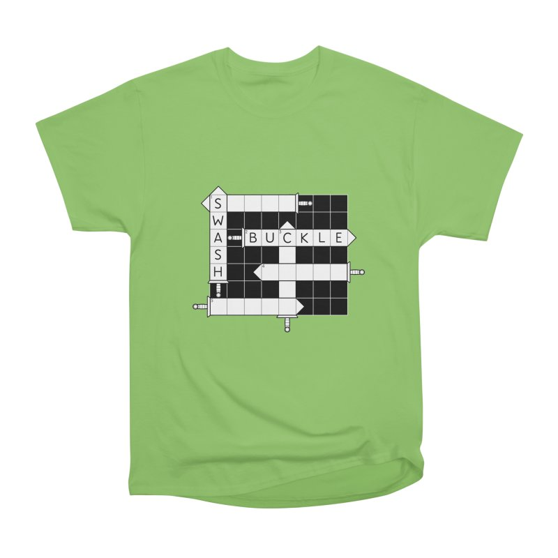 CrossSword Puzzle Women's Heavyweight Unisex T-Shirt by Eriklectric's Artist Shop