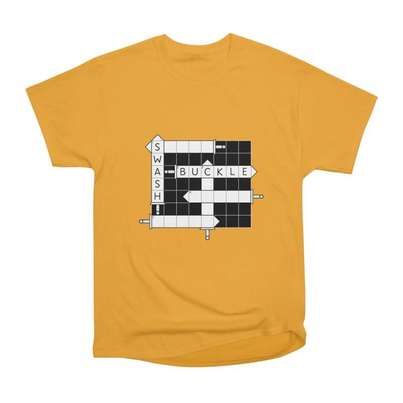 CrossSword Puzzle Women's Heavyweight Unisex T-Shirt by Eriklectric's Artist Shop