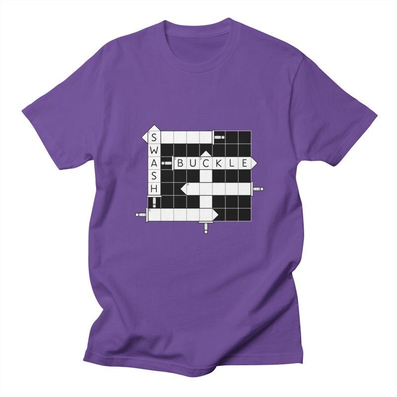 CrossSword Puzzle Women's Regular Unisex T-Shirt by Eriklectric's Artist Shop