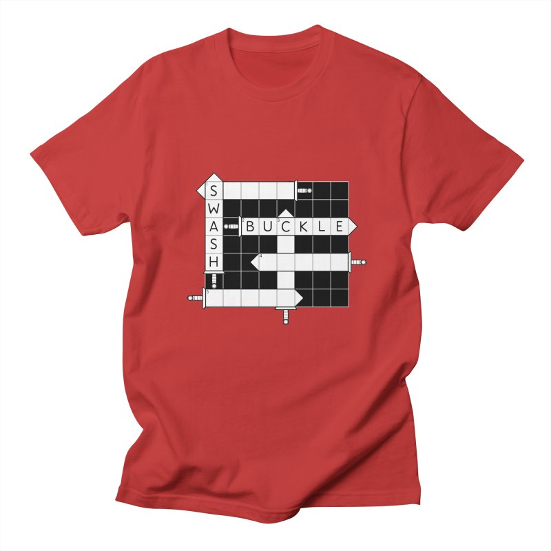 CrossSword Puzzle Women's Regular Unisex T-Shirt by Eriklectric's Artist Shop