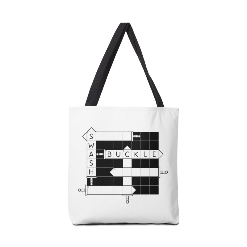 CrossSword Puzzle Accessories Bag by Eriklectric's Artist Shop