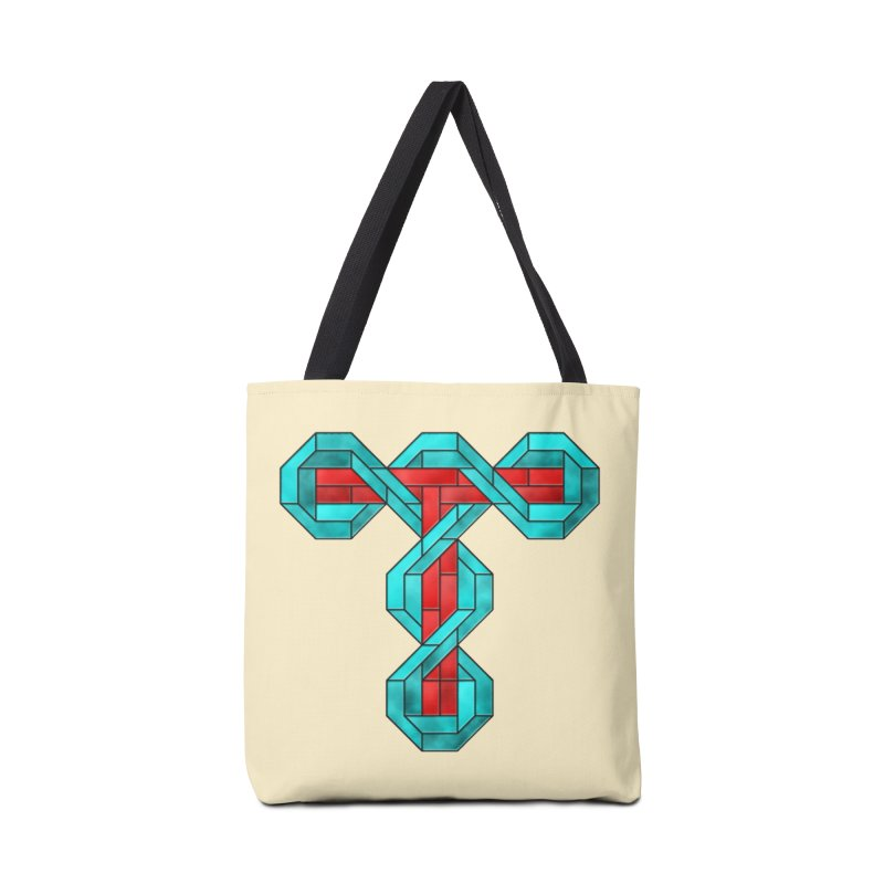 Stained Glass T Accessories Tote Bag Bag by Eriklectric's Artist Shop
