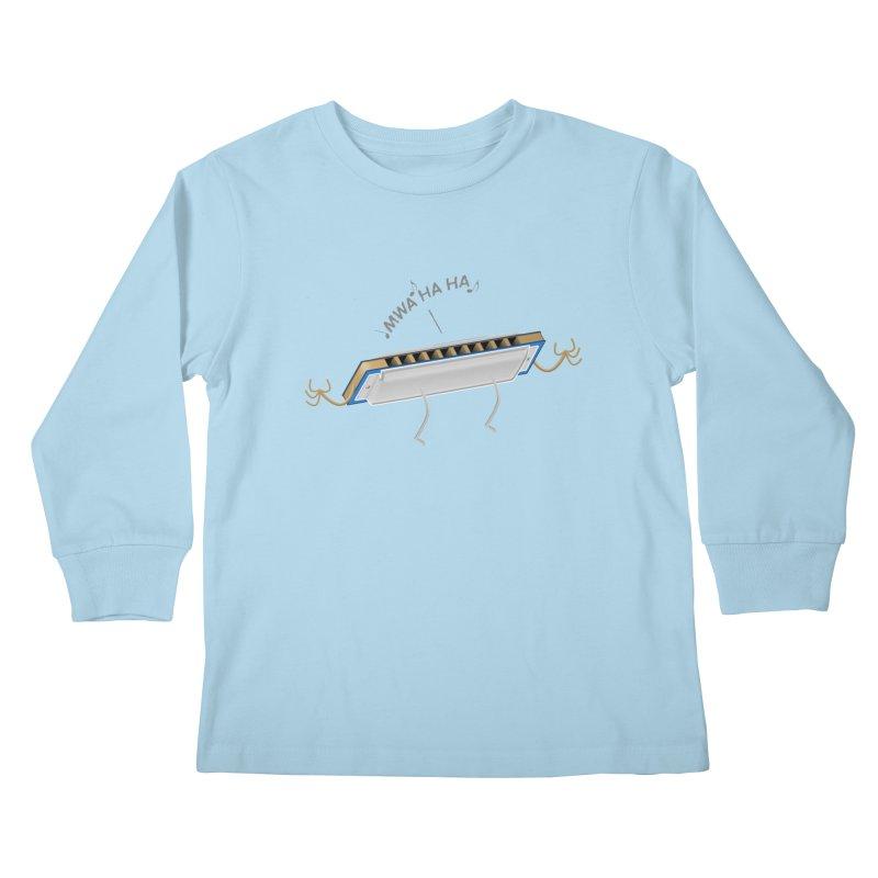 Harmoniacal Kids Longsleeve T-Shirt by Eriklectric's Artist Shop