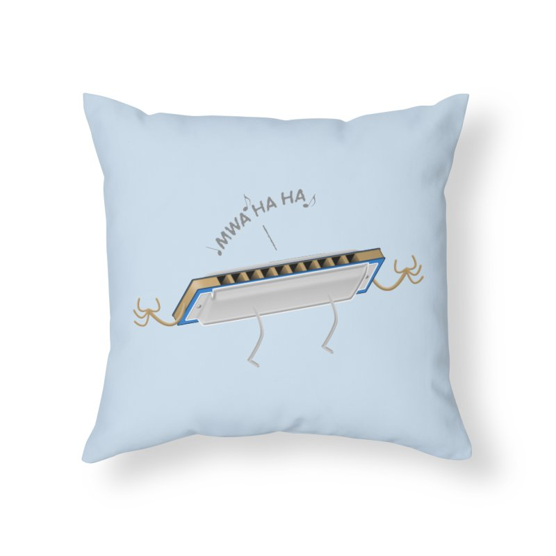 Harmoniacal Home Throw Pillow by Eriklectric's Artist Shop