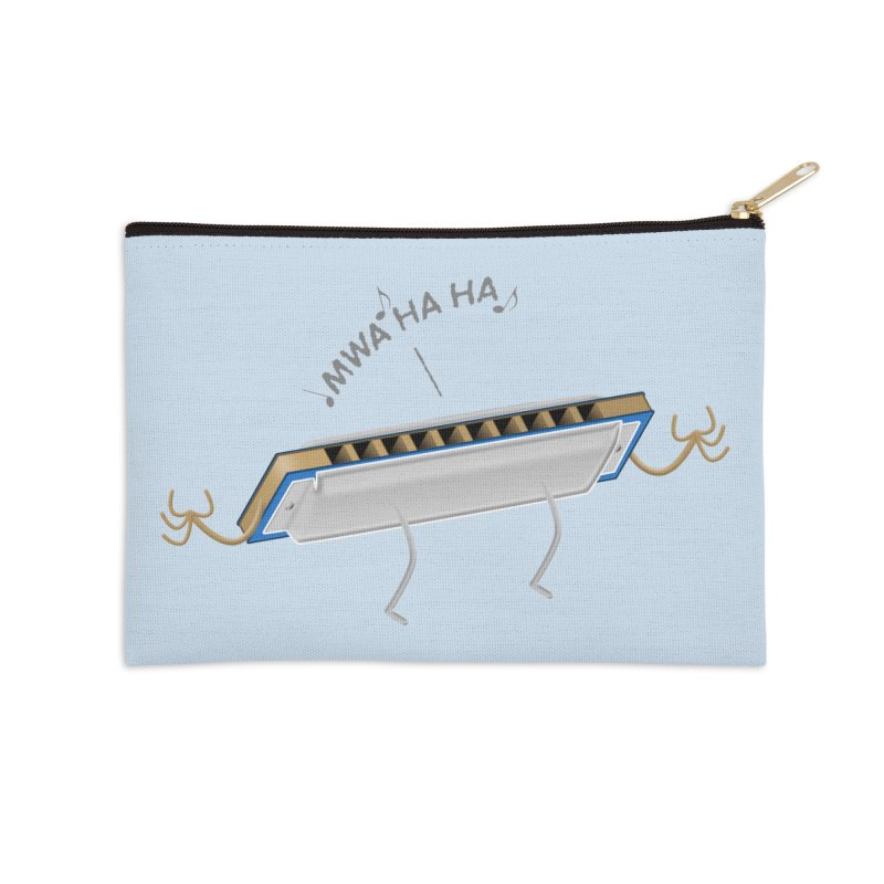 Harmoniacal Accessories Zip Pouch by Eriklectric's Artist Shop
