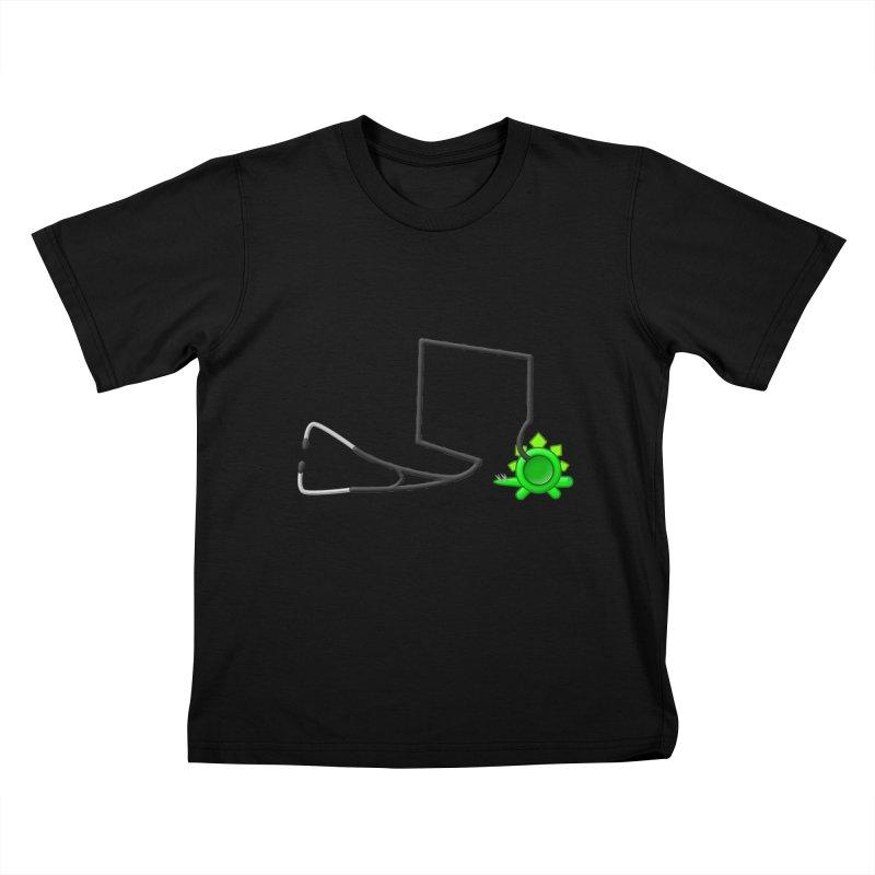 Stegoscope Kids T-Shirt by Eriklectric's Artist Shop