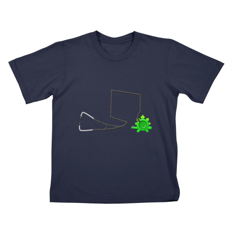 Stegoscope Kids T-Shirt by Eriklectric's Artist Shop