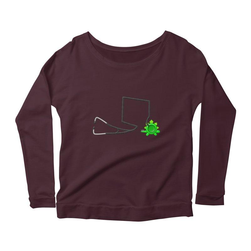Stegoscope Women's Scoop Neck Longsleeve T-Shirt by Eriklectric's Artist Shop