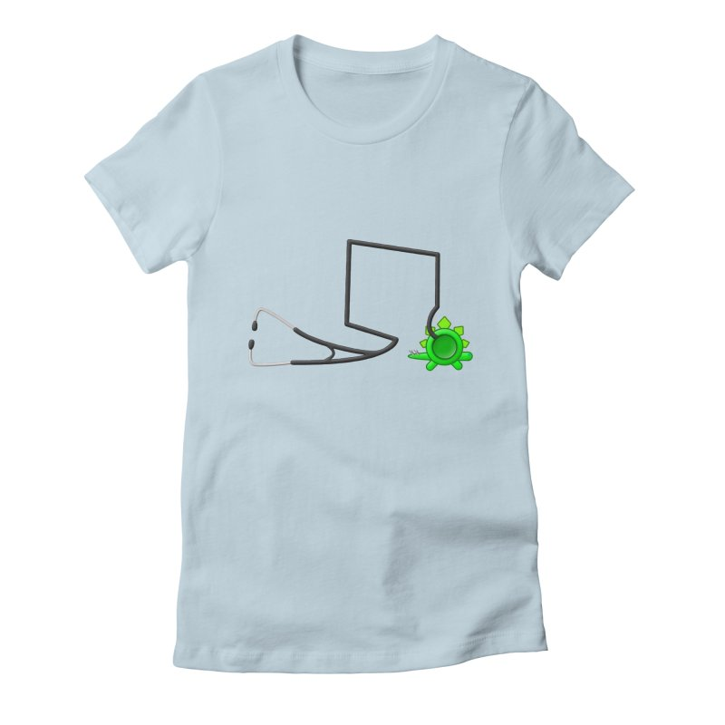 Stegoscope Women's Fitted T-Shirt by Eriklectric's Artist Shop