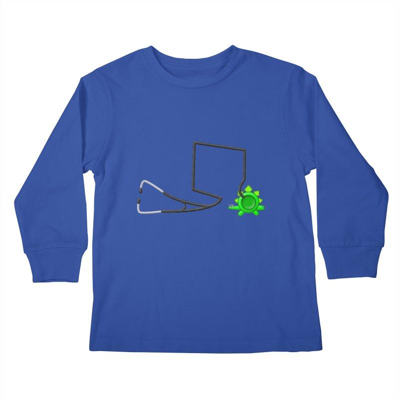 Stegoscope Kids Longsleeve T-Shirt by Eriklectric's Artist Shop