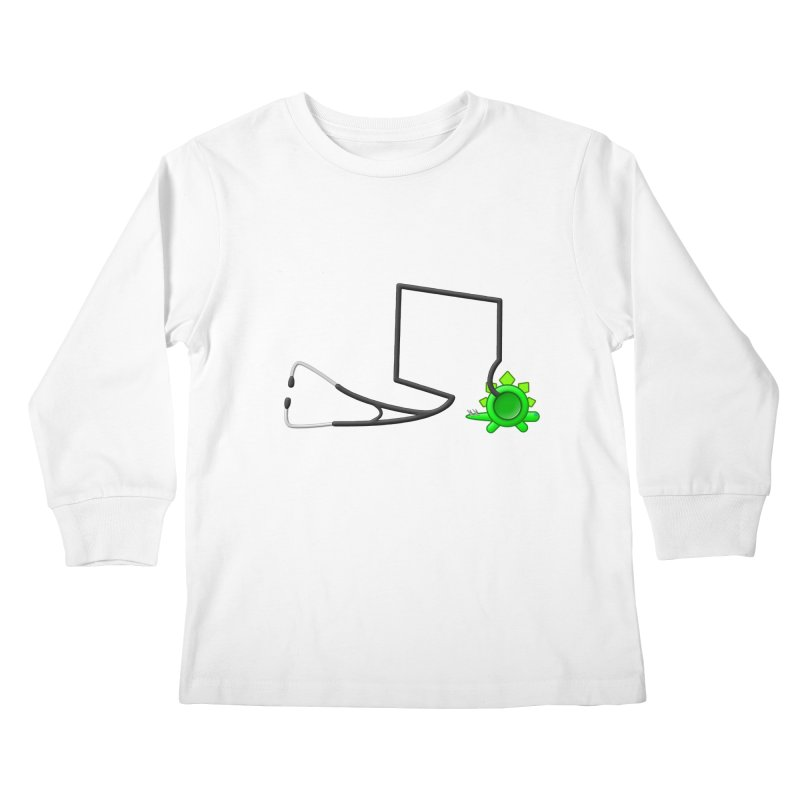 Stegoscope Kids Longsleeve T-Shirt by Eriklectric's Artist Shop