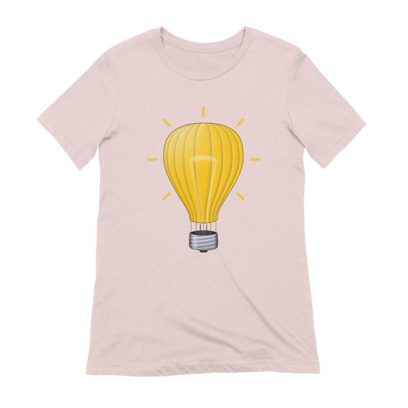 Lighter Than Air Women's Extra Soft T-Shirt by Eriklectric's Artist Shop
