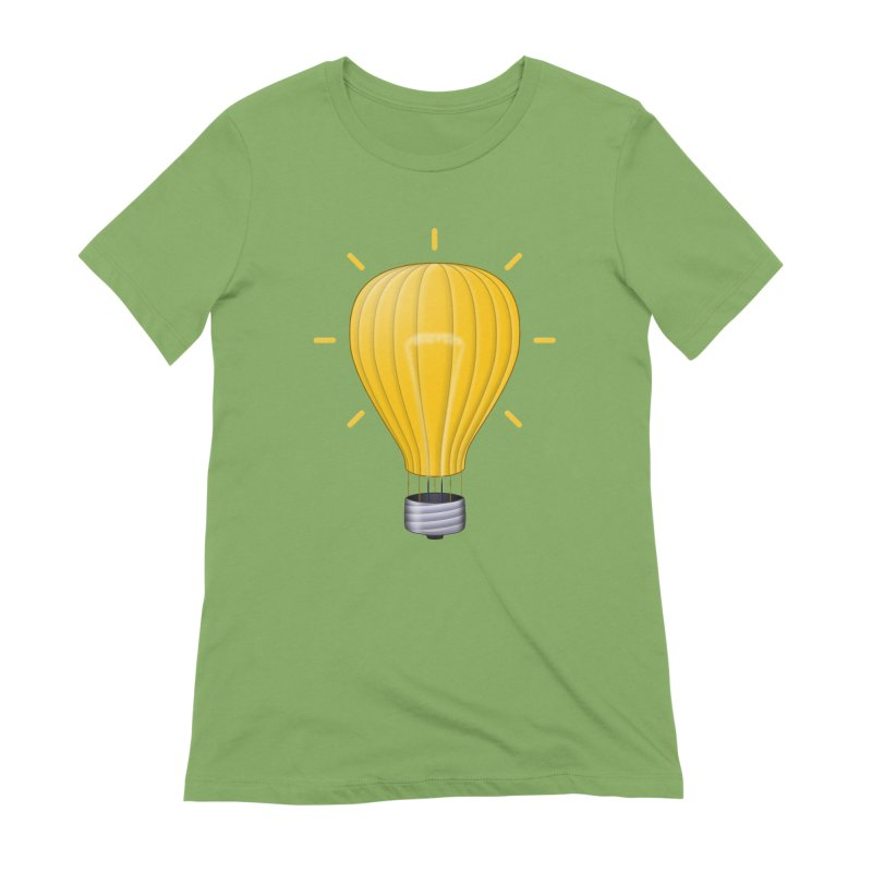Lighter Than Air Women's Extra Soft T-Shirt by Eriklectric's Artist Shop