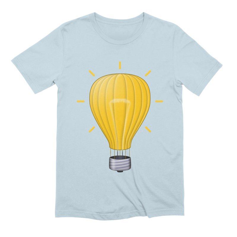 Lighter Than Air Men's T-Shirt by Eriklectric's Artist Shop