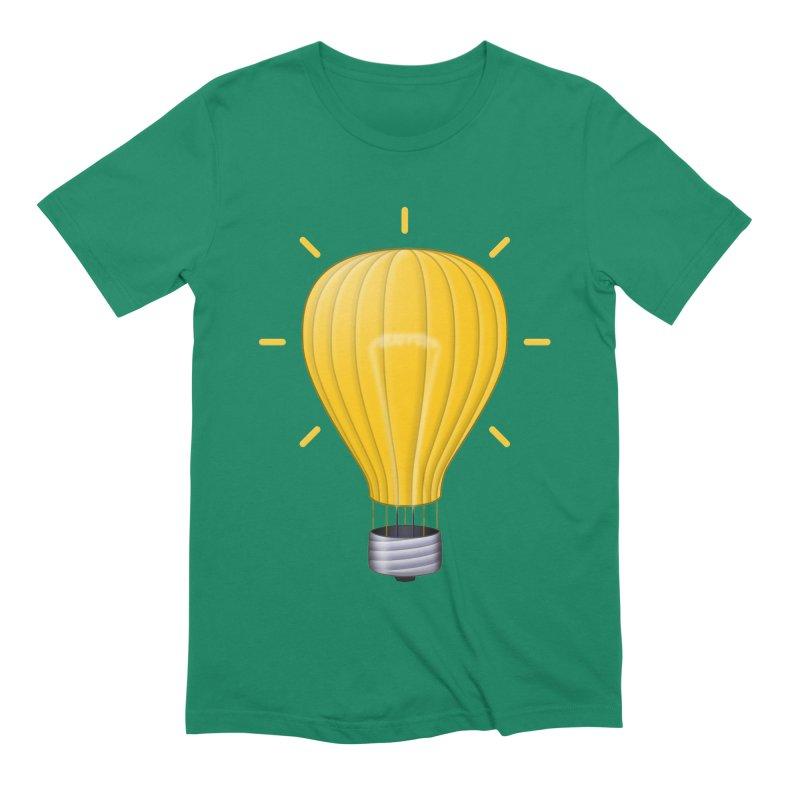 Lighter Than Air Men's Extra Soft T-Shirt by Eriklectric's Artist Shop