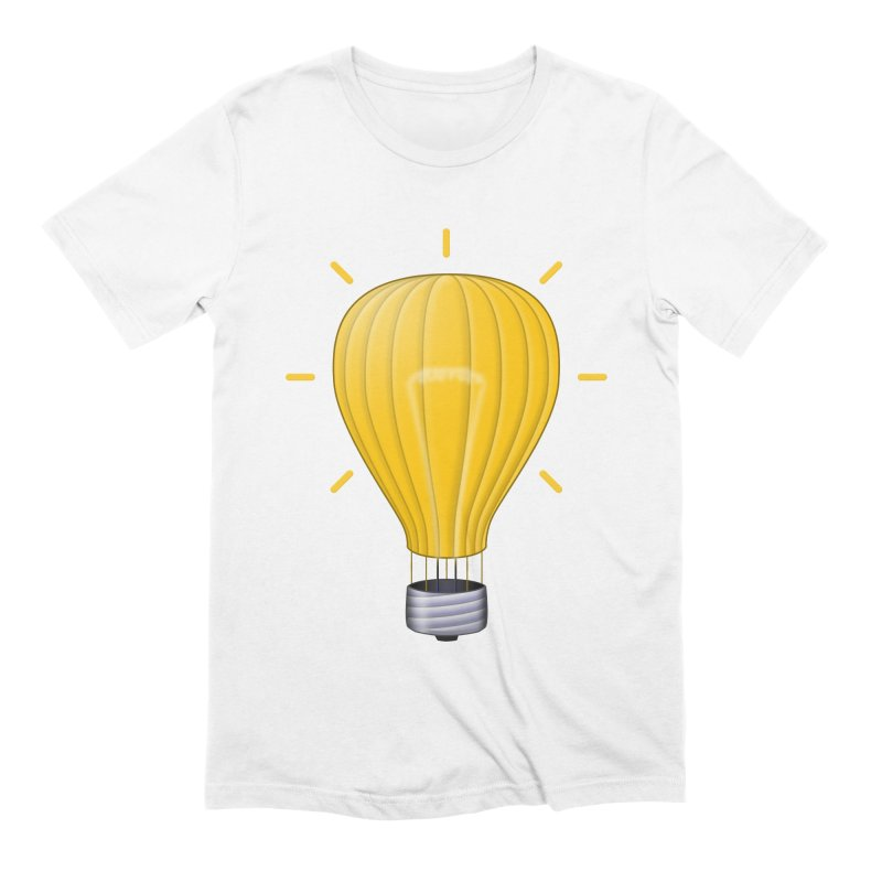 Lighter Than Air Men's Extra Soft T-Shirt by Eriklectric's Artist Shop
