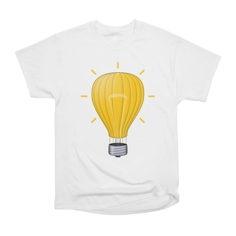 Lighter Than Air Men's Heavyweight T-Shirt by Eriklectric's Artist Shop