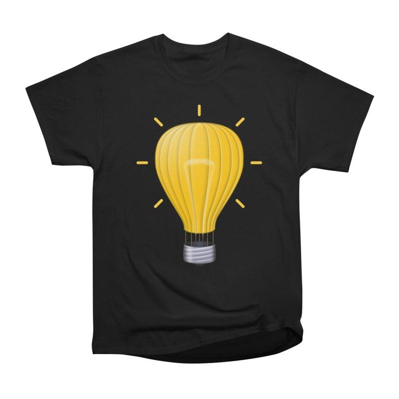 Lighter Than Air Men's Heavyweight T-Shirt by Eriklectric's Artist Shop