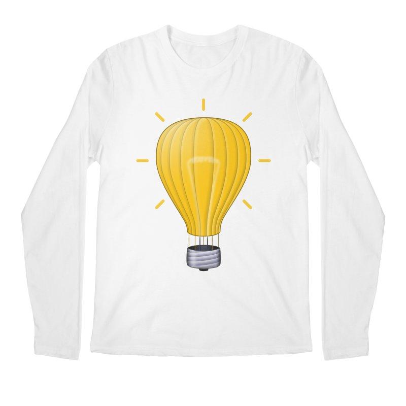 Lighter Than Air Men's Regular Longsleeve T-Shirt by Eriklectric's Artist Shop