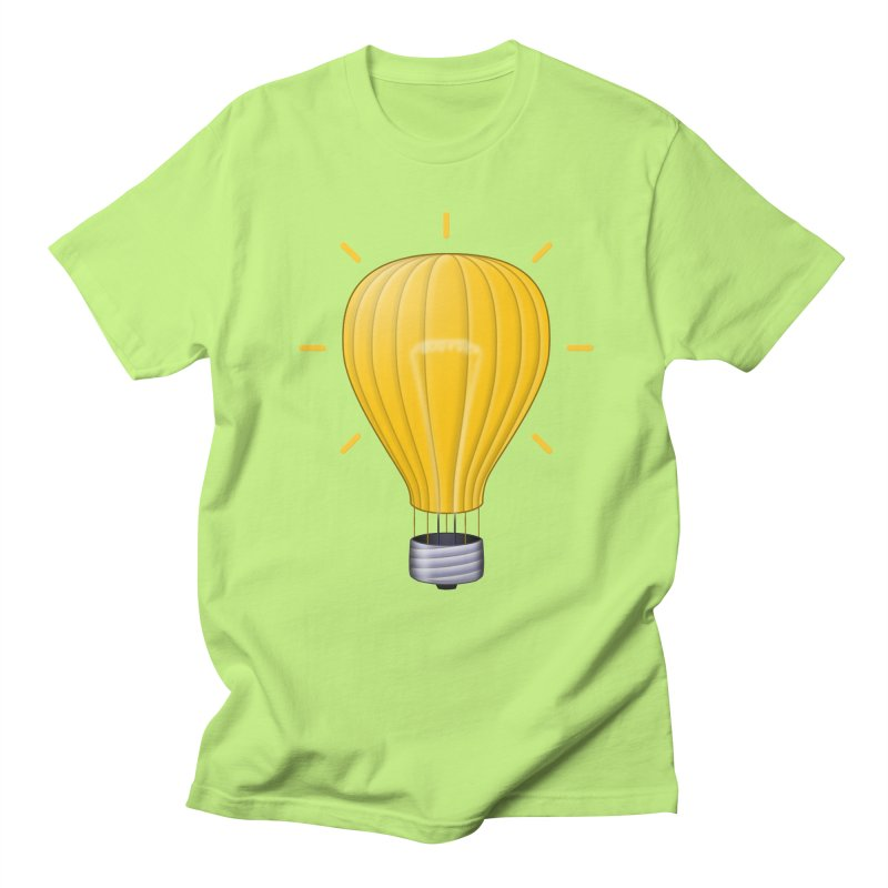 Lighter Than Air Men's Regular T-Shirt by Eriklectric's Artist Shop