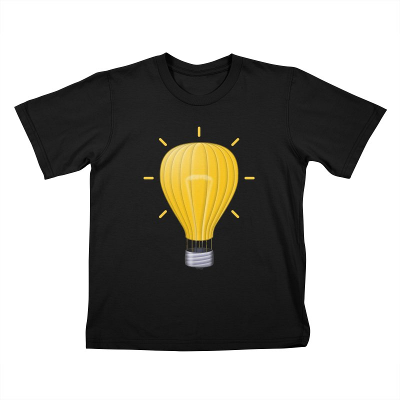 Lighter Than Air Kids T-Shirt by Eriklectric's Artist Shop