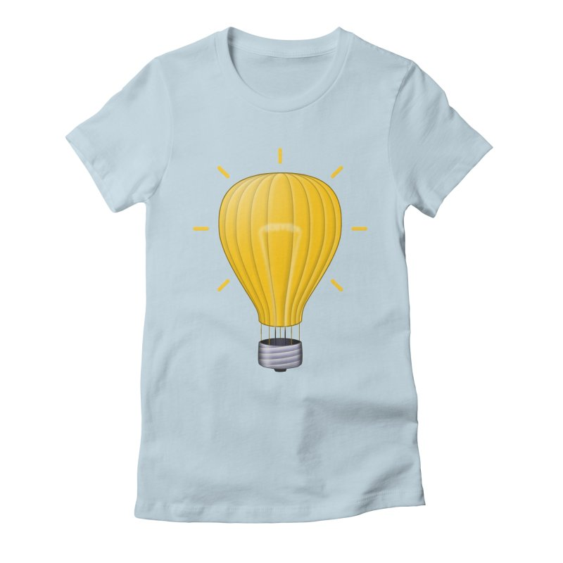 Lighter Than Air Women's T-Shirt by Eriklectric's Artist Shop