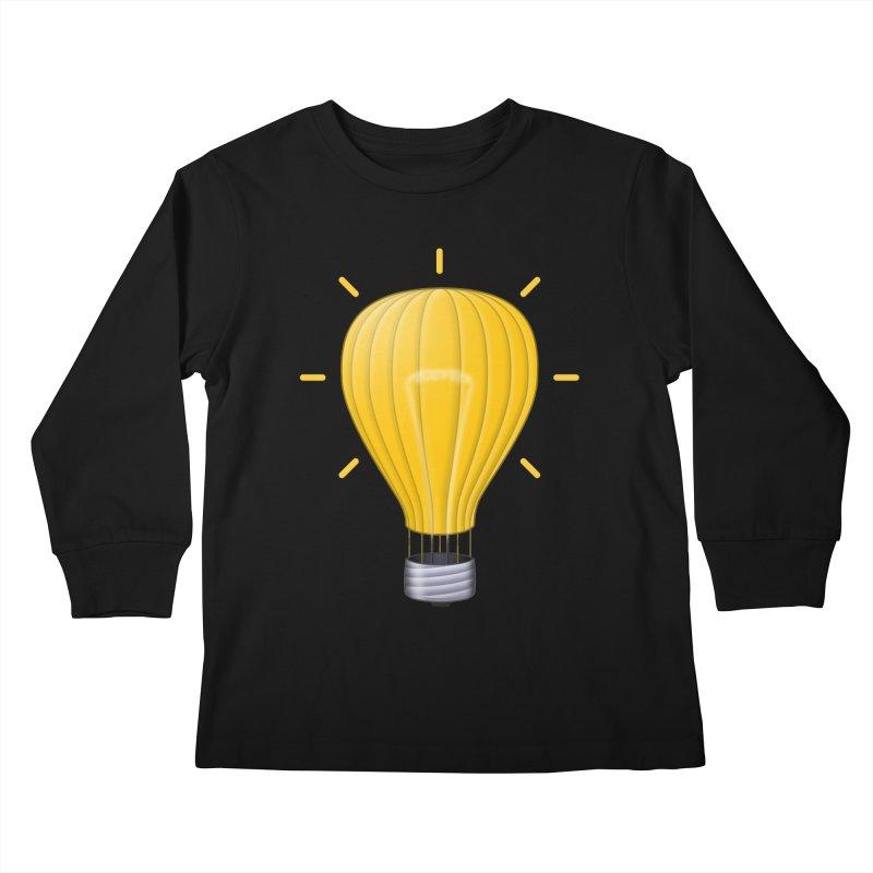 Lighter Than Air Kids Longsleeve T-Shirt by Eriklectric's Artist Shop