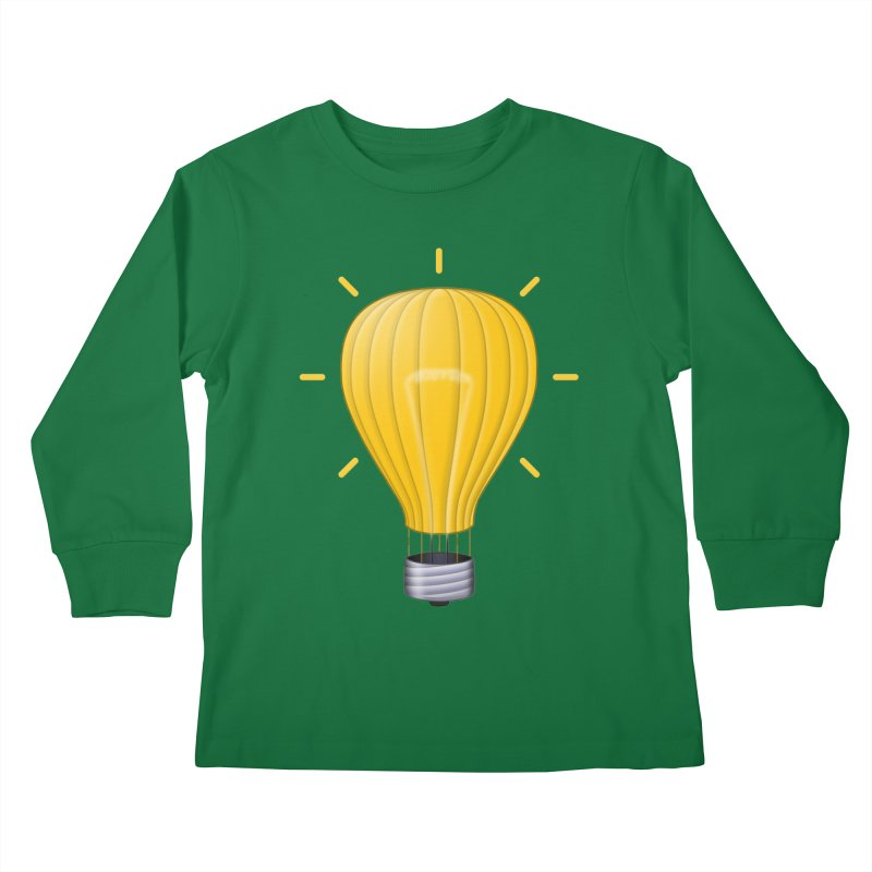 Lighter Than Air Kids Longsleeve T-Shirt by Eriklectric's Artist Shop
