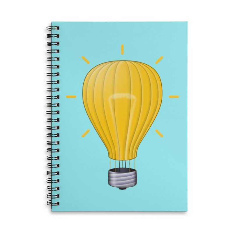 Lighter Than Air Accessories Notebook by Eriklectric's Artist Shop