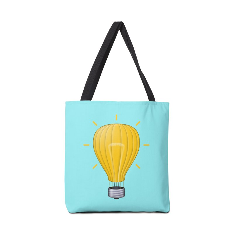 Lighter Than Air Accessories Tote Bag Bag by Eriklectric's Artist Shop