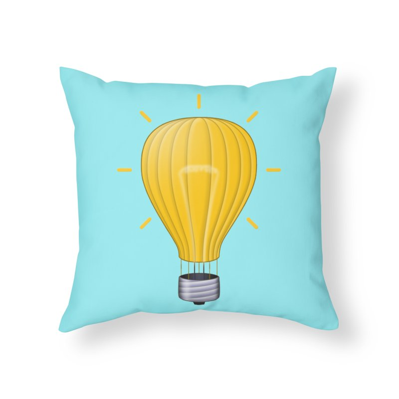 Lighter Than Air Home Throw Pillow by Eriklectric's Artist Shop