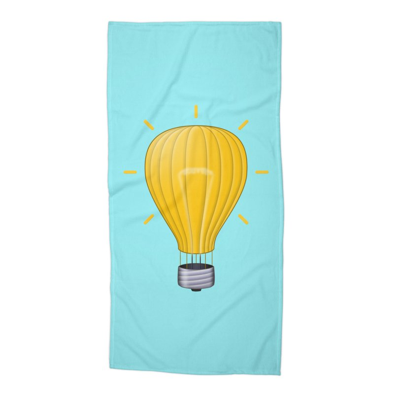 Lighter Than Air Accessories Beach Towel by Eriklectric's Artist Shop