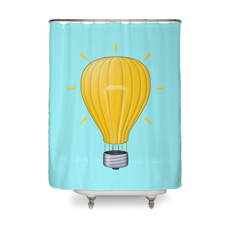 Lighter Than Air Home Shower Curtain by Eriklectric's Artist Shop