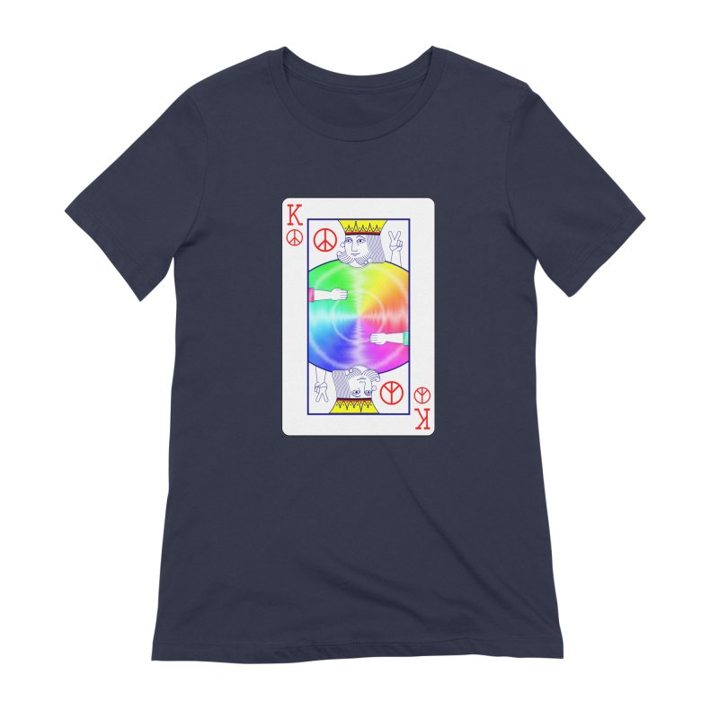 Peace Rules Women's Extra Soft T-Shirt by Eriklectric's Artist Shop