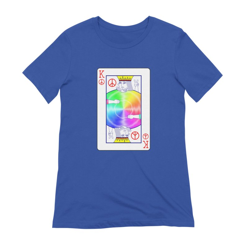 Peace Rules Women's T-Shirt by Eriklectric's Artist Shop
